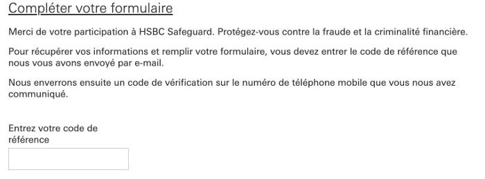 Se connecter au portail Profil Client HSBC