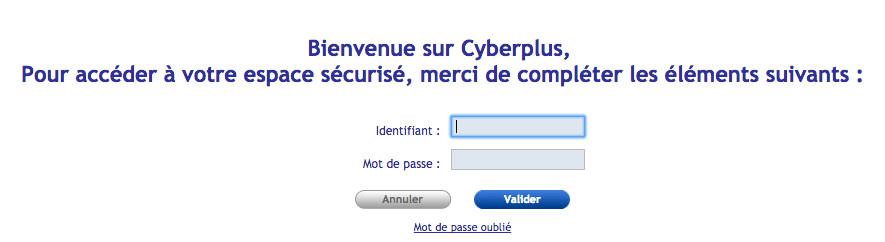 Se connecter à Cyberplus BPBFC - www.bpbfc.banquepopulaire.fr