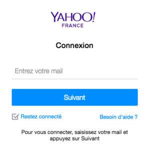Se connecter à Yahoo Mail France : ouverture de session sur mail.yahoo.fr