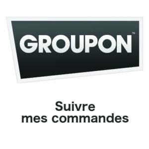 Suivre l'évolution de mes commandes Groupon en ligne