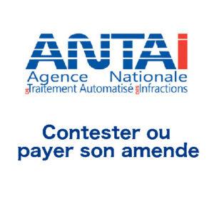 www.antai.gouv.fr : contestation amende et paiement en ligne