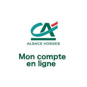 www.ca-alsace-vosges.fr : Mon compte